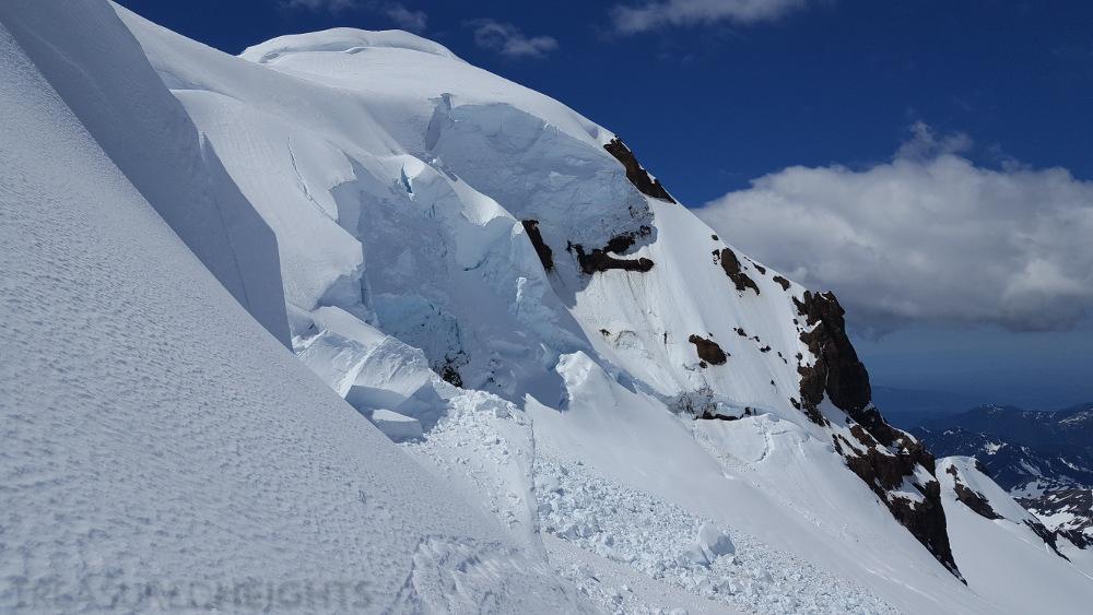 serac on Mount Baker