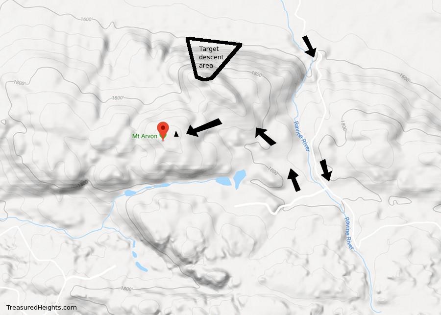 Map mount Arvon